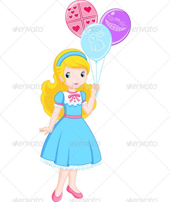 GraphicRiver Alice in Wonderland 7829313