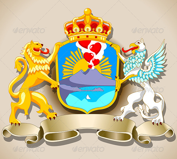 GraphicRiver Coat of Arm of Naples 7830114