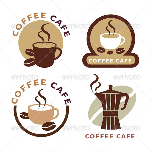 GraphicRiver Set of Coffee Elements 7824608