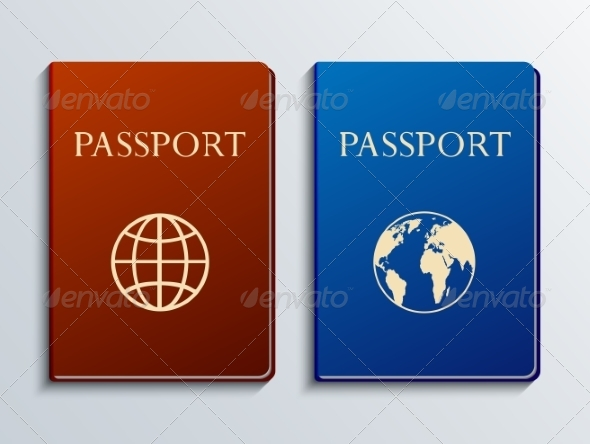 GraphicRiver Modern Passport Set 7836704