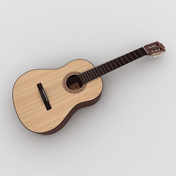 3DOcean Classical Guitar 7836762