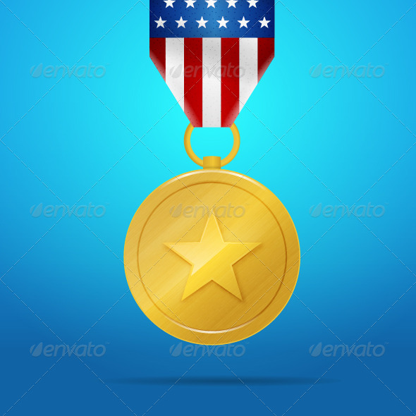 GraphicRiver United States Medal 7836776