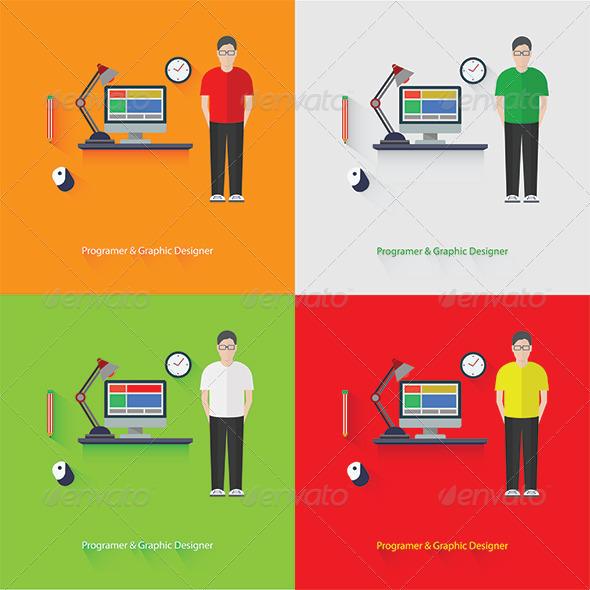 GraphicRiver Programer & Graphic Design 7837331