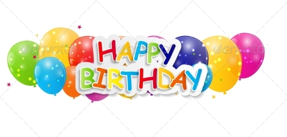 GraphicRiver Happy Birthday Card Illustration 7838795