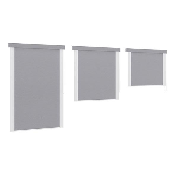 3DOcean Grey Window Blinds 7838816