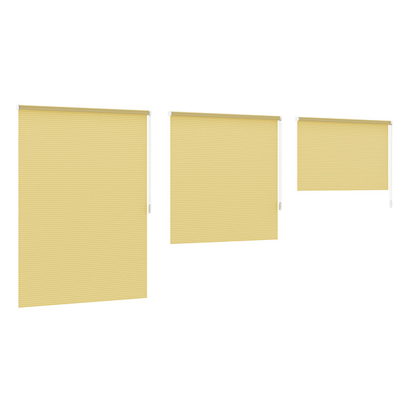 3DOcean Striped Yellow Blinds 7838833