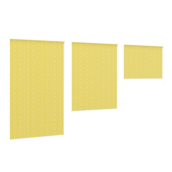 3DOcean Yellow Window Blinds 7839295