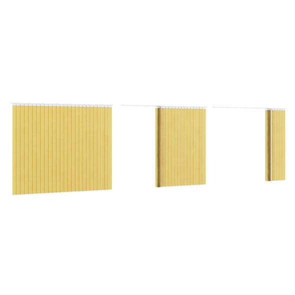 3DOcean Vertical Yellow Blinds 7839353