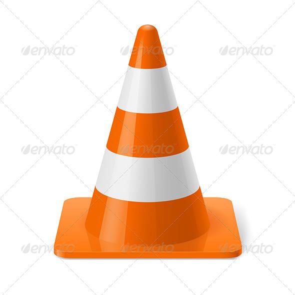 GraphicRiver Traffic Cone 7839467