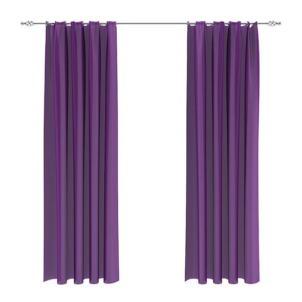 3DOcean Violet Curtains 7839470