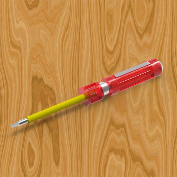 3DOcean Screwdriver 7840731