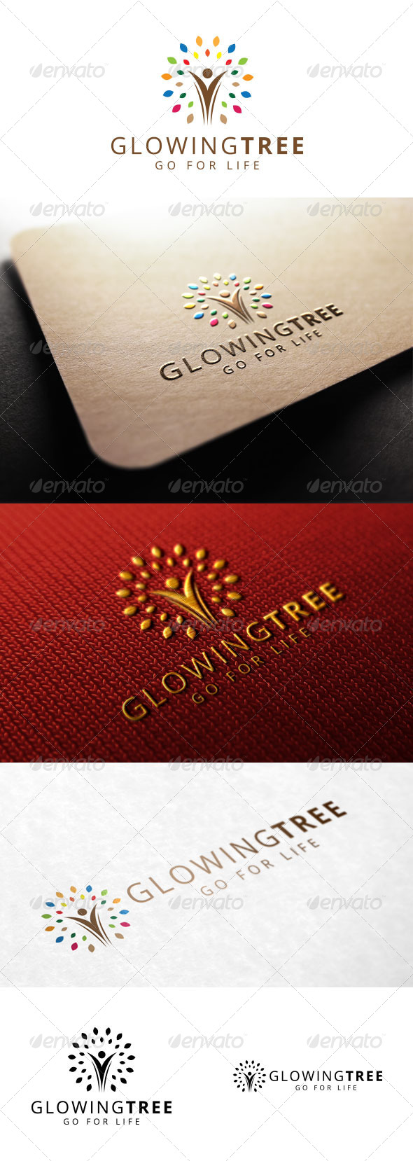 GraphicRiver Glowing Tree 7812657