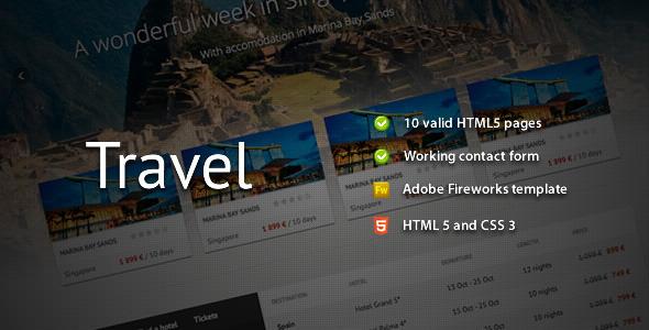 ThemeForest - Travel - Premium HTML Template - RIP