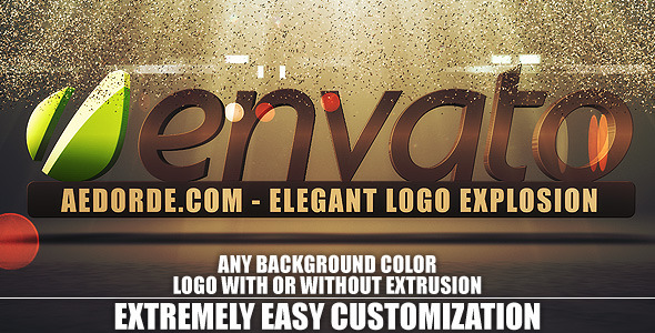 After Effects Project - VideoHive Elegant Logo Explosion 802771