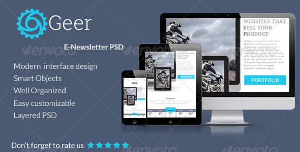 GraphicRiver Multipurpose E-mail PSD Template 7873940