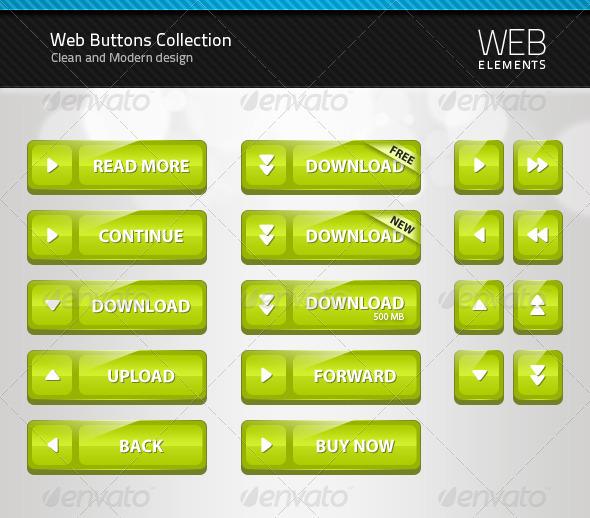 GraphicRiver Web Button Collection 1 98099