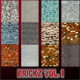 BRICKZ VOLUME 1 -TTD - GraphicRiver Item for Sale