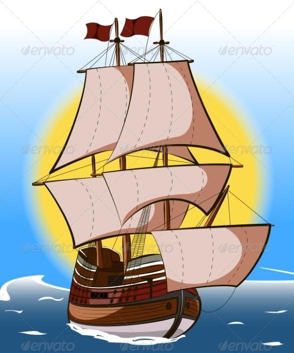 GraphicRiver Sailboat 7941730