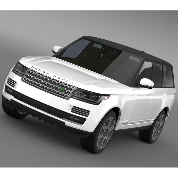 Land Rover Range Rover L405 2014 3d Model From Humster3d: Land Rover Range Rover L405 2014 Free 3d Model » Dondrup.com