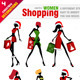 Shopping Women for Christmas  - GraphicRiver Item for Sale