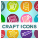 Crafty Icons - GraphicRiver Item for Sale