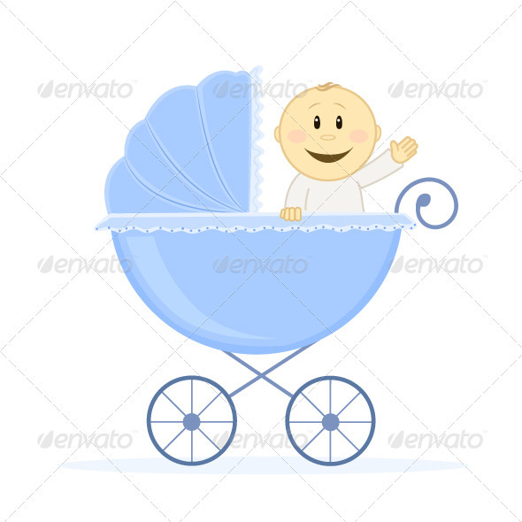 Graphic River Baby Boy Vectors -  Characters  People 813395