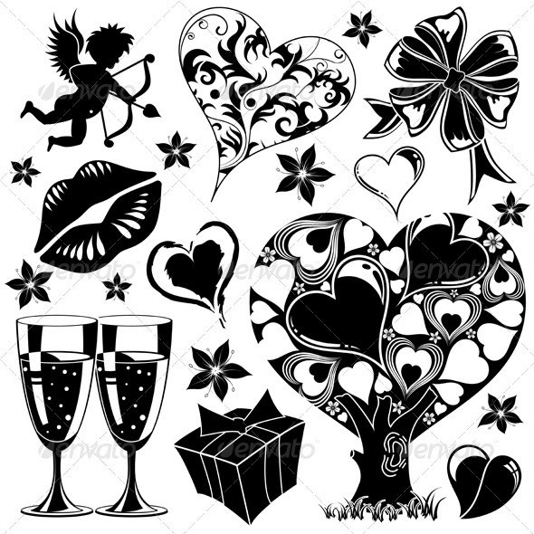 Graphic River Valentines Day collection Vectors -  Conceptual  Seasons/Holidays  Valentines 816079