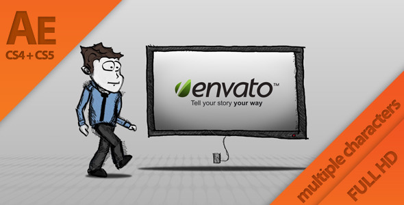 After Effects Project - VideoHive Cartoon Idea Presentation 772374