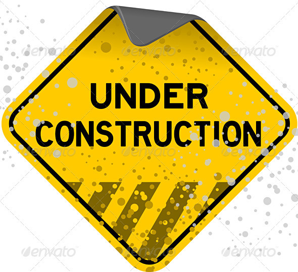 Graphic River Dusty Under Construction Vectors -  Objects 817840