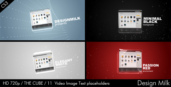 After Effects Project - VideoHive The Cube 818923