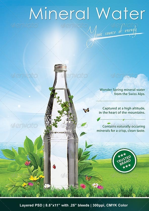 GraphicRiver Green Advertising Poster 283449