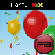 Confetti & Balloon party mix with depth and blur effect - ActiveDen Item for Sale
