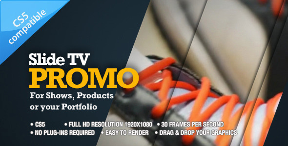 After Effects Project - VideoHive Slide TV Promo 485007