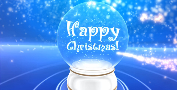 After Effects Project - VideoHive Glass snowball 832302