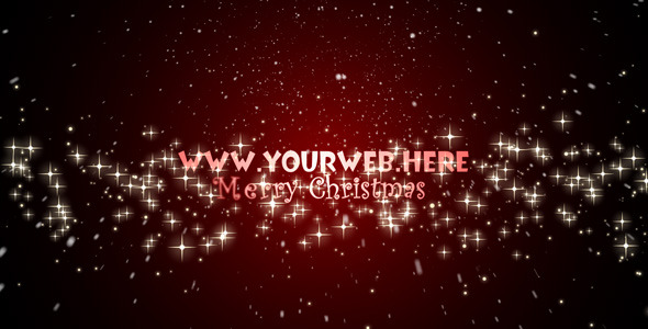 After Effects Project - VideoHive Merry Christmas Intro 73752