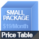 Price Table II - GraphicRiver Item for Sale
