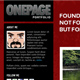 OnePage Portfolio Theme + 3 color - ThemeForest Item for Sale