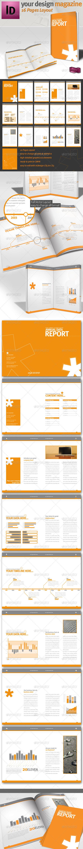GraphicRiver Professional Brochure Magazine Template A4 838133