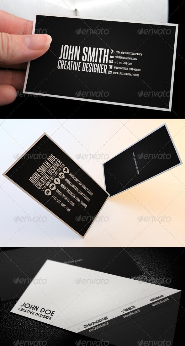 GraphicRiver Clean Business Card Bundle 839300