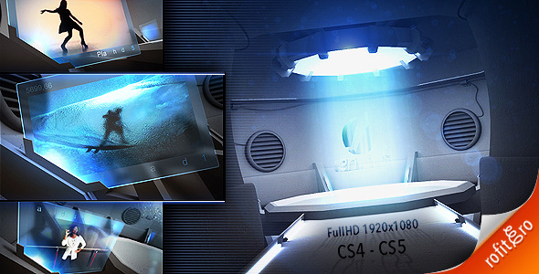 After Effects Project - VideoHive Top Secret Holographic Displays 839715