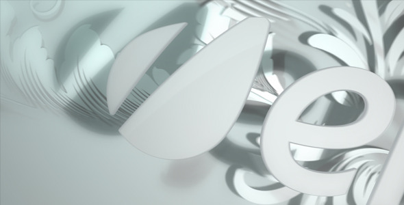 After Effects Project - VideoHive White Floral Logo 840549