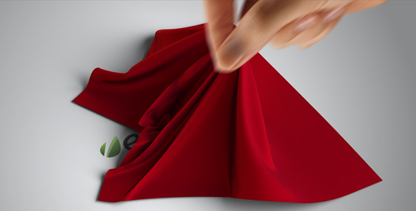 After Effects Project - VideoHive Cloth Logo Reveal 841303