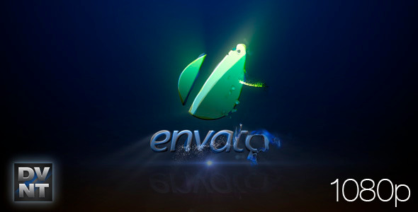After Effects Project - VideoHive Blue Plasma Logo Stinger 841574