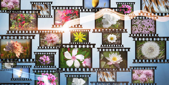 After Effects Project - VideoHive Slideshow With Streaks HD 842845