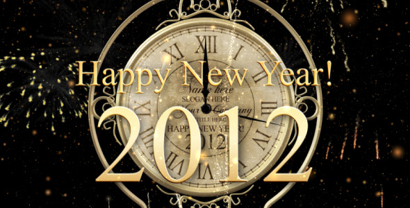 After Effects Project - VideoHive New Year Countdown Clock 2012 146394