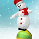 Snowman on Ball - VideoHive Item for Sale