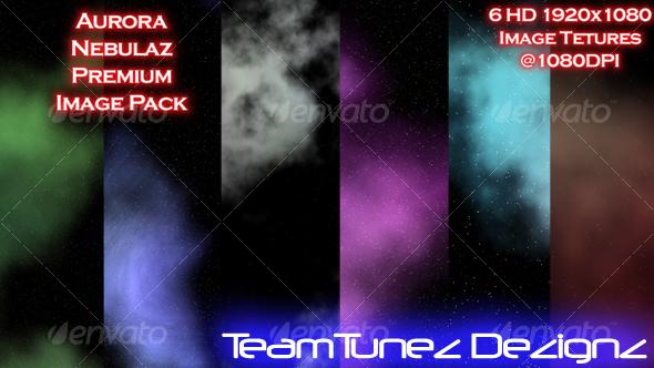 GraphicRiver Aurora Nebulaz Premium Image Pack 35210