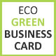 Eco-Green Business Card - GraphicRiver Item for Sale