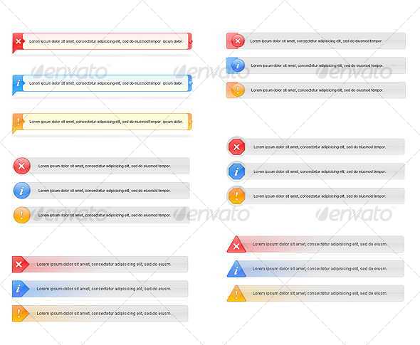 GraphicRiver Error Info and Alert Messages 35285