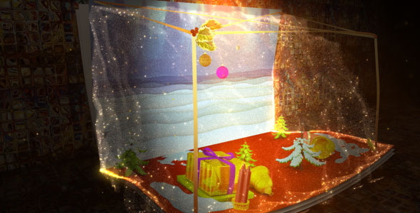 After Effects Project - VideoHive Christmas Holiday and New Year Greetings 844271